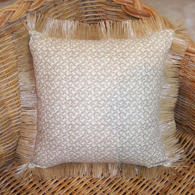 Hanalei Home Basketweave Pillow