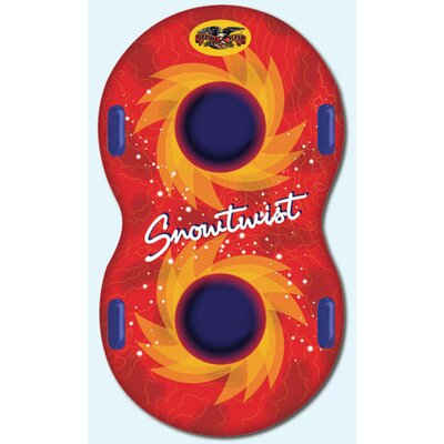 "Flexible Flyer Snow Twist 57"" Inflatable Sled"