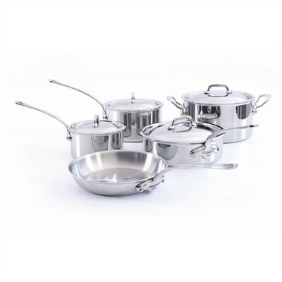 M'Cook 5-Ply Stainless Steel 9-Piece Cookware Set