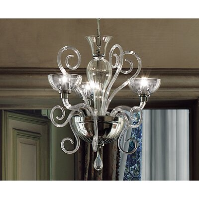 FDV Collection Bolero 3x20 G4 Bulb Chandelier by Carlo Nason
