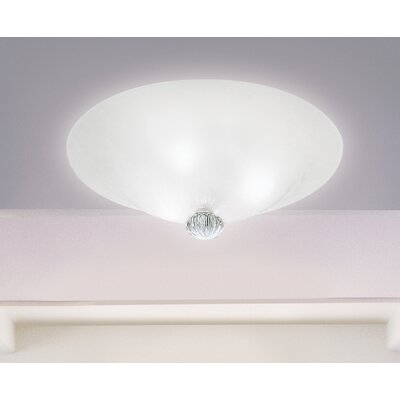 FDV Collection Caorlina Ceiling Light in Sand Blasted White