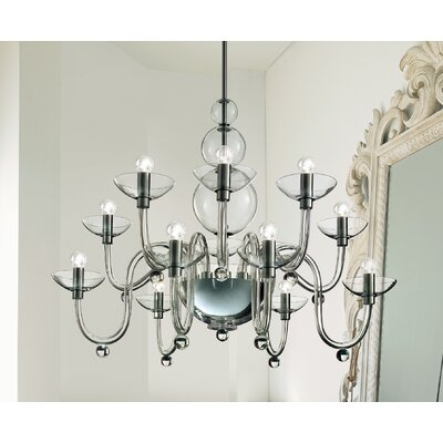 FDV Collection Danieli 12 Light Chandelier Bulb Type 6x60 E12