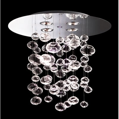 FDV Collection Ether 5 Light Pendant