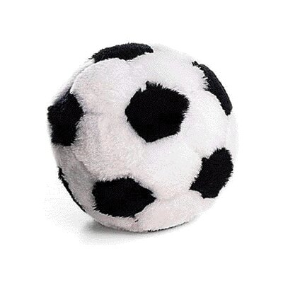 Ethical Pet Plush Soccerball Dog Toy