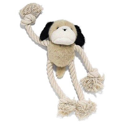 Ethical Pet Moppets Plush and Rope Dog Toy Dog Toy