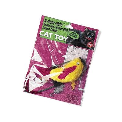 Ethical Pet A-Door-Able Plush Bird Cat Toy