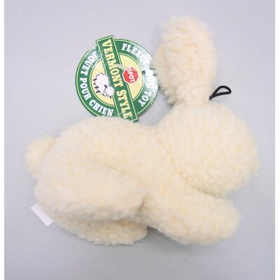 Ethical Pet Vermont Dog Fleece Rabbit Dog Toy