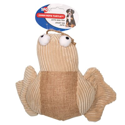 Ethical Pet Spot Cordi-Roys Turtle Dog Toy