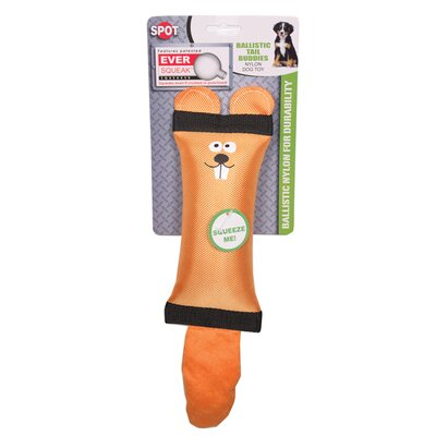 Ethical Pet Spot Ballistic Tail Buddies Beaver Dog Toy