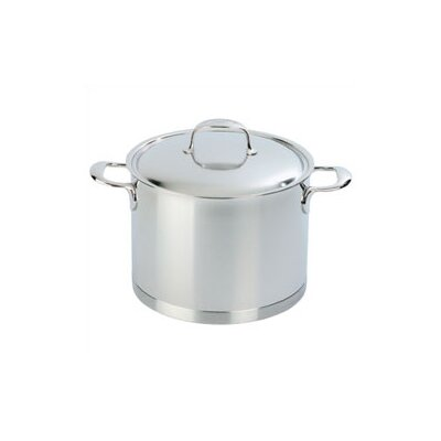 Demeyere Atlantis 8.5-qt. Stock Pot with Lid