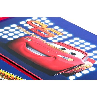 Delta Children Disney Pixar's Cars Wooden Toy Box