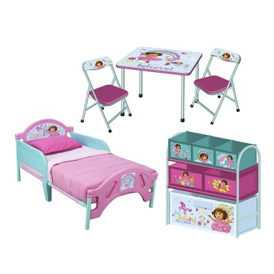 dora the explorer convertible toddler bedroom