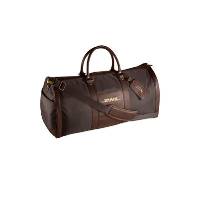 Andrew Philips 24&quot; Leather Metro Convertible Travel Duffel