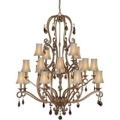 Forte Lighting 20 Light Chandelier