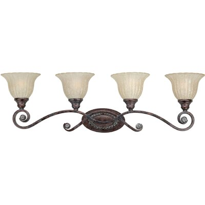 Forte Lighting 4 Light Vanity Light