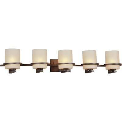 Forte Lighting 5 Light Bath Bracket