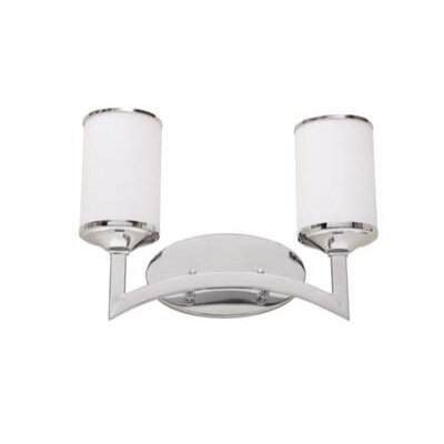 Artcraft Lighting Saturn Two Light Bath Vanity in Polished Chrome