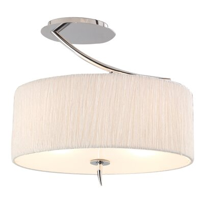 Artcraft Lighting Sloan 1 Light Semi Flush Mount