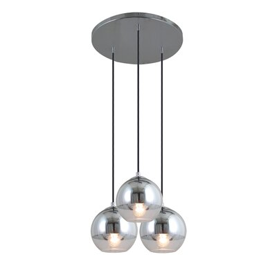 Artcraft Lighting Brooklyn 3 Light Kitchen Island Pendant