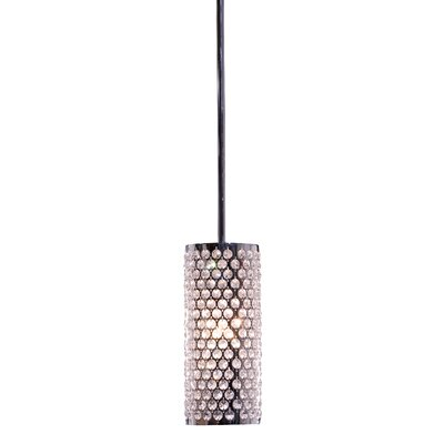 Artcraft Lighting Concentrix 1 Light Drum Pendant