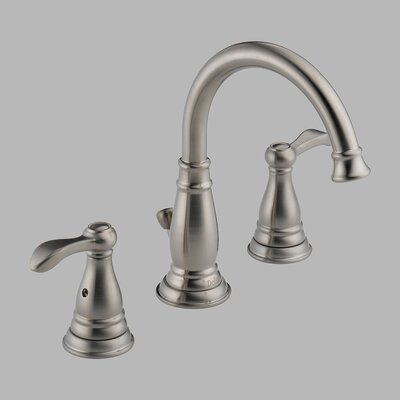 Delta Porter Widespread Bathroom Faucet with Double Lever Handles