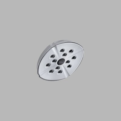 "Delta H2Okinetic Addison 6"" Rain Can Shower Head"