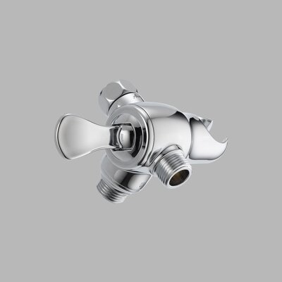 Delta Universal Showering Components 3-Way Arm Diverter Valve with Handshower Mount