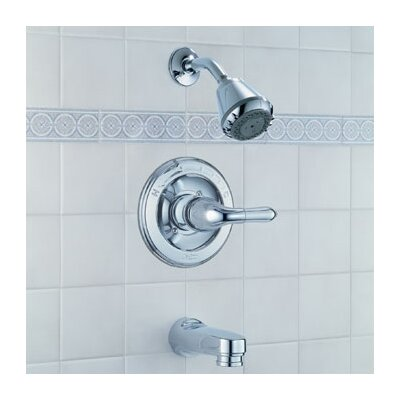 Delta Innovations Pressure Balanced Tub and Shower Faucet