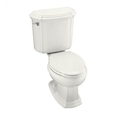 Kohler Portrait Two-Piece Elongated 1.6 Gpf Toilet with Ingenium Flush Technology and Left-Hand Trip Lever