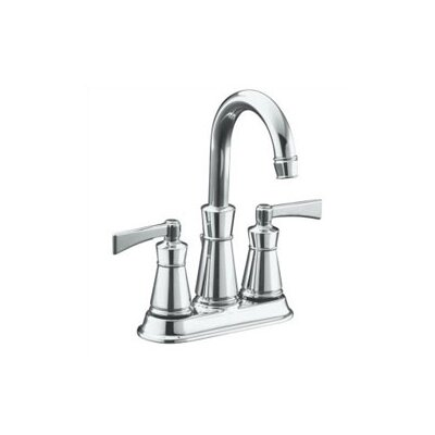 Kohler Archer Centerset Bathroom Faucet with Double Lever Handles