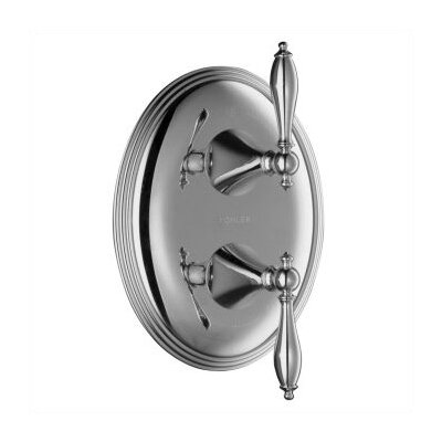 Kohler Finial Traditional Stacked Valve Shower Faucet Trim