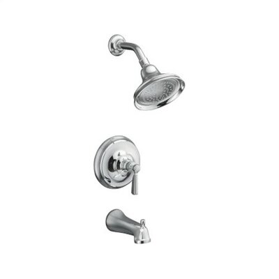 Kohler Bancroft Rite-Temp Pressure-Balancing Bath and Shower Faucet Trim with Diverter Spout