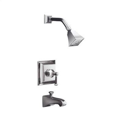 Kohler Memoirs Rite-Temp Pressure-balancing Bath and Shower Faucet Trim with Stately Design and Lever Handle