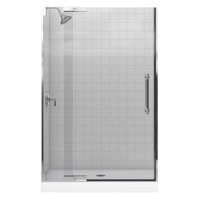Kohler Pinstripe Heavy Glass Pivot Shower Door