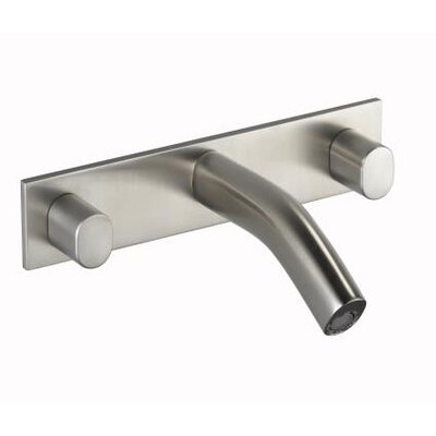 Kohler Oblo Wall Mounted Bathroom Faucet with Double Oval Handles