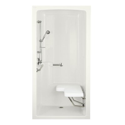 Kohler Freewill One-Piece Barrier-Free Transfer Commercial Shower Stall