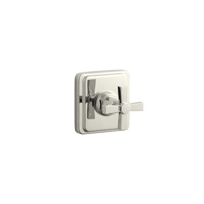 Kohler Pinstripe Valve Trim with Pure Design Cross Handle For Transfer Valve, Requires Valve