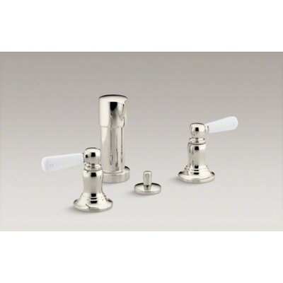 Kohler Bancroft Double Handle Vertical Spray Bidet Faucet
