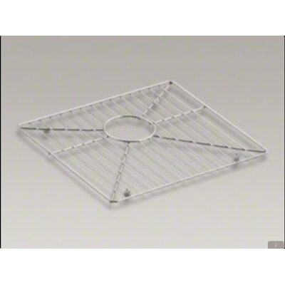 Kohler 8 Degree Bottom Bowl Rack, Left-Hand Bowl