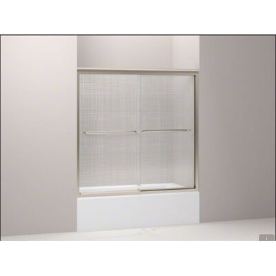 Kohler Fluence Frameless Bypass Sliding Tub Door