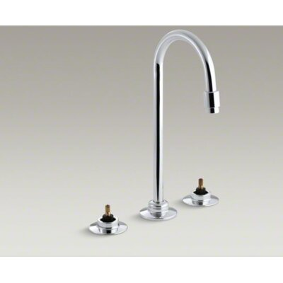 Kohler Triton Widespread Lavatory Faucet with Flexible Connections, Requires Handles