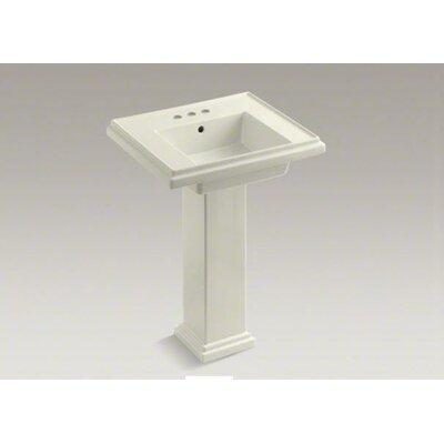 Kohler Bathroom Sink on Kohler Tresham Pedestal Bathroom Sink Set   K 2844   Wayfair