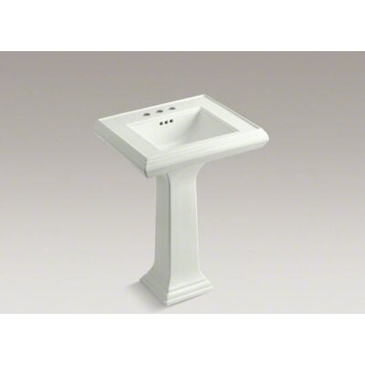 Memoirs Pedestal Bathroom Sink with Centers and Overflow - K-2238