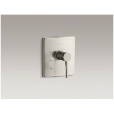 Kohler Stance Rite-Temp Thermostatic Mixing Valve Trim without Diverter Button