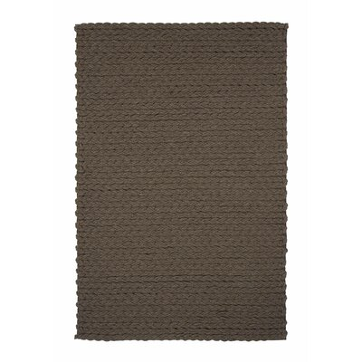 Gandia Blasco Lana Wool Trenzas Brown Rug