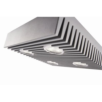 "Philips Consumer Luminaire 2.1"" 4 Light Flush Mount"