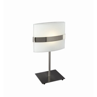 Philips Consumer Luminaire One Light Table Lamp in Matte Chrome