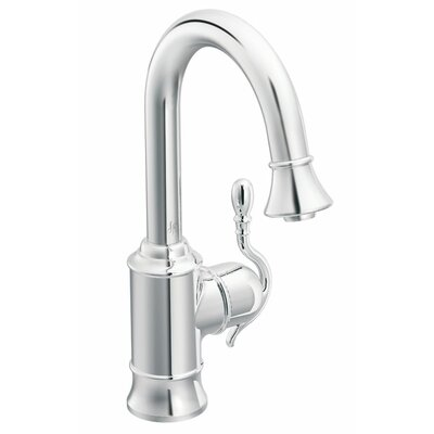 Moen Woodmere Single Handle Single Hole Pull-Out Kitchen Faucet