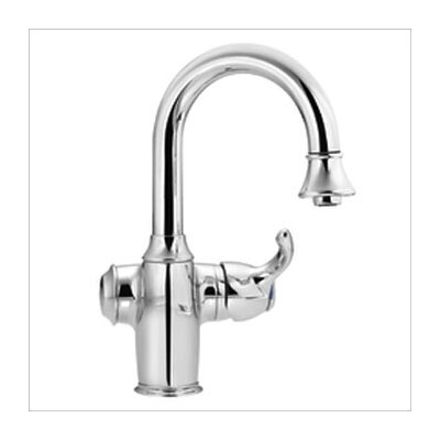 Moen Woodmere One Handle Single Hole Bar Faucet with Pullout Spout