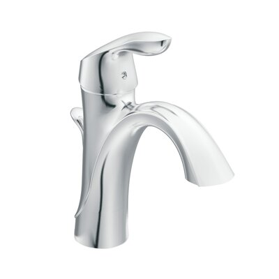 Moen Eva Single Hole Bathroom Faucet with Single Handle